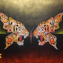 TIGER BUTTERFLY by Otto Schade