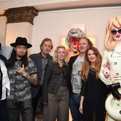 Artists Shauna Richardson, Daisuke Sakaguchi, John Gledhill, Claire Milner, Christian Furr, Lauren Baker, Pandemonia